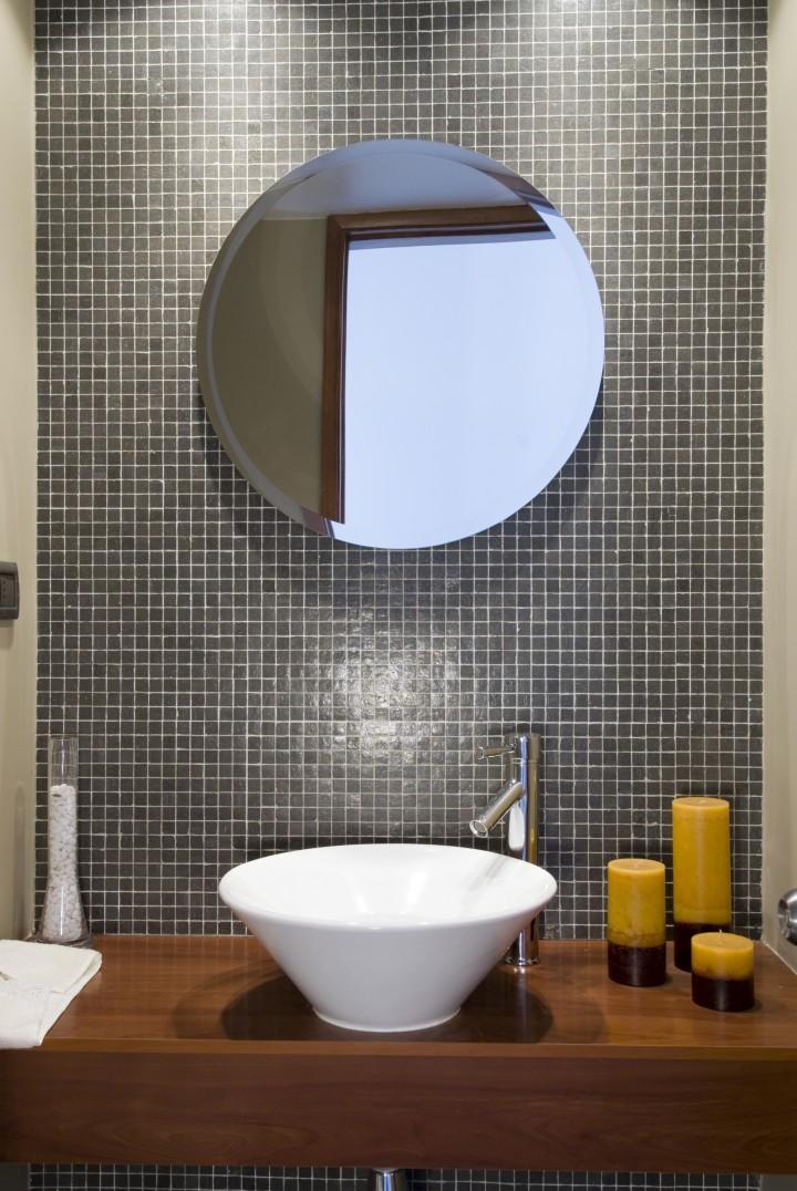 nowowczesna aranżacja łazienki