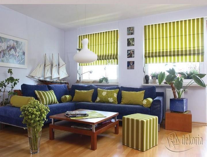 zdjęcie jak stworzy� kolorowy nowoczesny salon