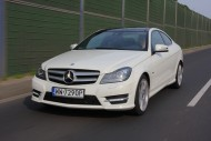 Mercedes C 250 CDI Coupe 7G-Tronic BlueEFFICIENCY AMG Fot. Moto.wieszjak.pl