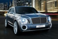 Bentley EXP 9 - przód