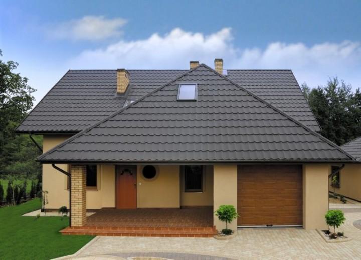 Zdj cie nr 6 elewacje kolory jaki kolor elewacji wybra galeria projekt budowa for Differente toiture maison